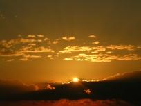 Dania Beach Gold Sunrise