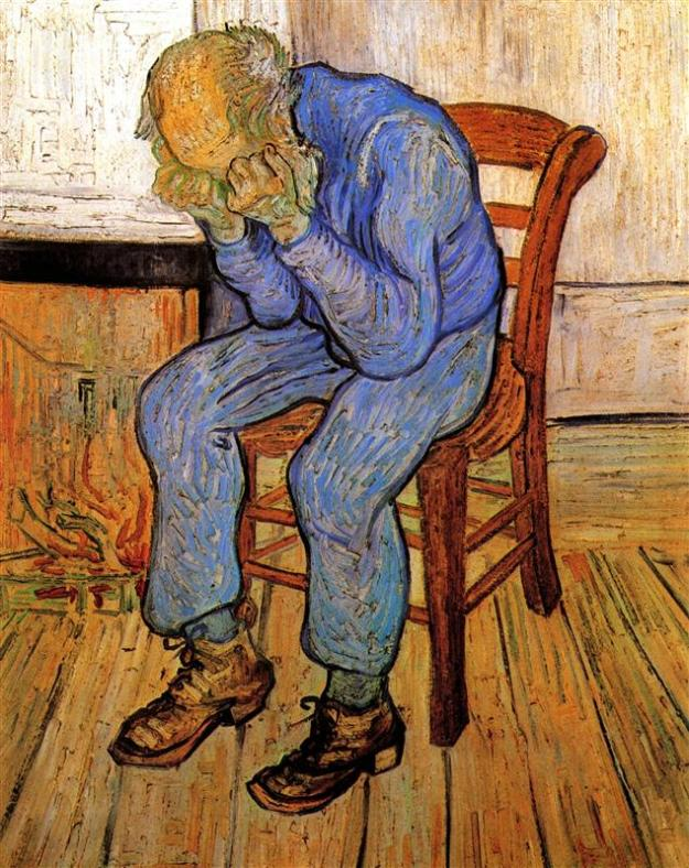 Old Man in Sorrow (On the Threshold of Eternity), Vincent van Gogh (1890)